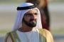 لحظة سقوط حاكم دبي من سلم الطائرة للأرض بالأردن