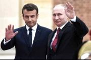 ماكرون وبوتين في حوار شاق حول سوريا واوكرانيا ونزاعات دولية