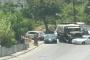 حادث تصادم بين شاحنة عسكرية وسيارة على جسر الباشا وزحمة سير خانقة في المحلة