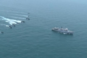 القوات القطرية تبدأ تمرينا بحريا مع القوات البريطانية
