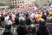 إقرار السلسلة واكبته اعتصامات في وسط بيروت