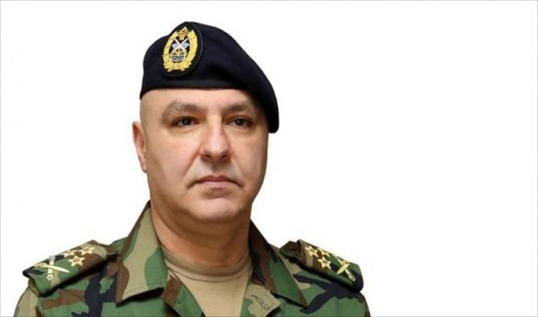 قائد الجيش من بعبدا: مستعدون استعدادا تاما على الحدود الجنوبية والشرقية