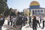 آلاف من الجنود الإسرائيليين في القدس لحماية ألوف اليهود في ذكرى «خراب الهيكل»