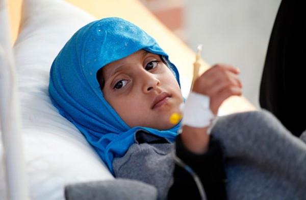 الصحة العالمية: مصابو الكوليرا باليمن يقتربون من نصف مليون حالة