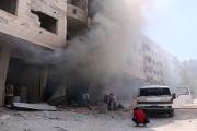 قوات النّظام تواصل خرق هدنة الغوطة... وشرطة عسكرية روسية تصل حمص