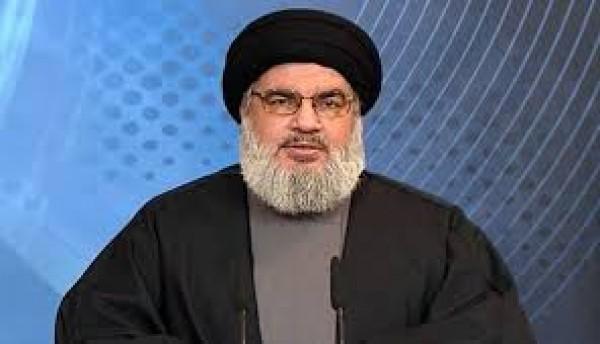 نصر الله:  الإدارة الأميركية لن تتمكن عبر تهديداتها وضغوطها من المس بقوة المقاومة وإرادتها وتعاظمها