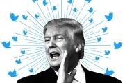 ترامب يساوي ملياري دولار عند تويتر.. تغريداته تعادل سُدس رأس مال الشركة!