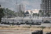 بالصور ... تزايد الحشود العسكرية التركية على الحدود السورية