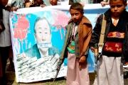 العقيدة الحوثية تعبث بعقول أطفال اليمن