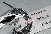 روبوت يساعد على اتخاذ القرارات السياسية
