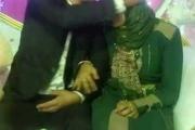 سيدة مصرية تحضر حفل زفاف زوجها إلى أخرى وتهنّئه