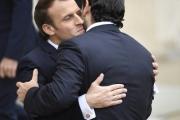هكذا استقبل الرئيس الفرنسي ماكرون الحريري