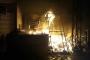 بالصور: إخماد حريق محل في حي الزهور في صيدا