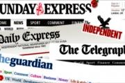 الصحافة البريطانية تغطي مظاهرات إيران وانتشار الكوكايين بلندن