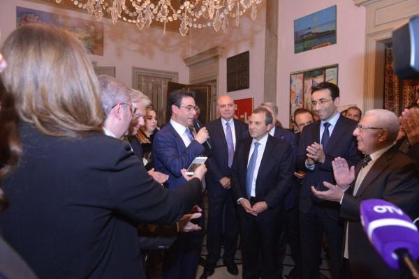 باسيل من الأشرفية: سيكون للتيار مكانة في بيروت