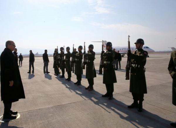 أردوغان: سنسحق وحدات حماية الشعب الكردية في عفرين