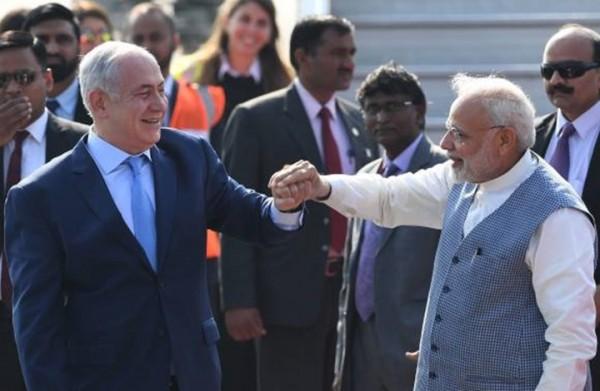 نتنياهو يصل الهند في أول زيارة رسمية إسرائيلية منذ 15 عاما