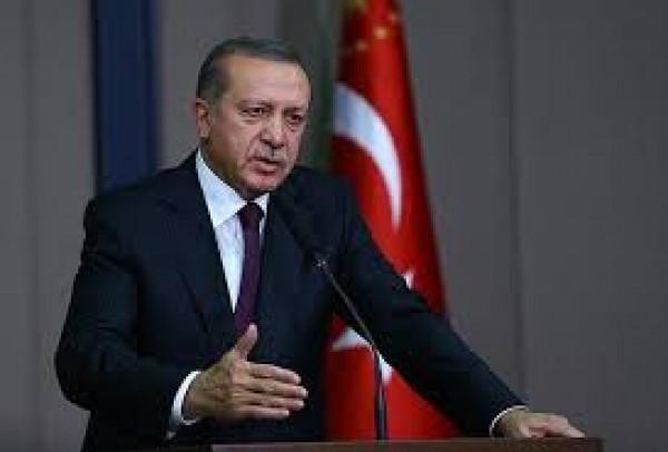 أردوغان يحذر الدول الصديقة لتركيا من دعم الوحدات الكردية في عملية عفرين المرتقبة