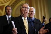 زعيم الجمهوريين في مجلس الشيوخ الأمريكي يدعو إلى إجراء تصويت على الموازنة الإثنين