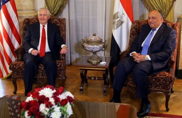 نيويورك تايمز: كيف كانت زيارة تيلرسون لمصر؟