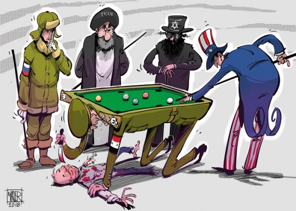كاريكاتير صحيفة العرب