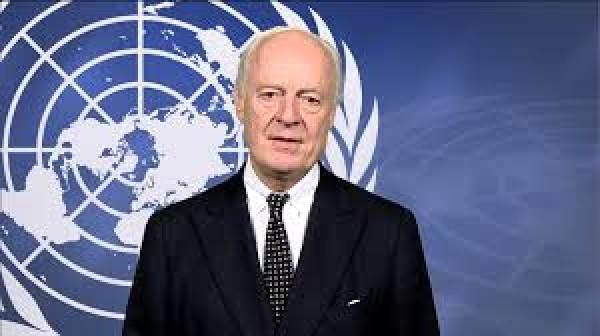 دي ميستورا: هناك تطورات في سوريا تهدد تحقيق الاستقرار الإقليمي وأدعو لتهدئة فورية