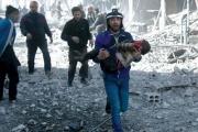 المرصد السوري: 45 قتيلا الثلاثاء في قصف الغوطة الشرقية