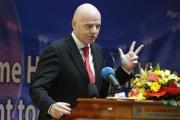 إنفانتينو يثمن تأهب قطر لمونديال 2022