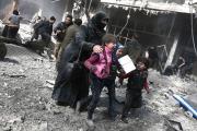تصعيد خطير في الغوطة الشرقية ينذر بهجوم وشيك على معقل المعارضة