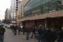 عمال البلديات ومستخدموها اعتصموا احتجاجاً على عدم دفع السلسلة