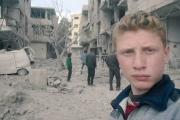 محمد نجم.. ابن 15 عاماً يبث يوميات الغوطة
