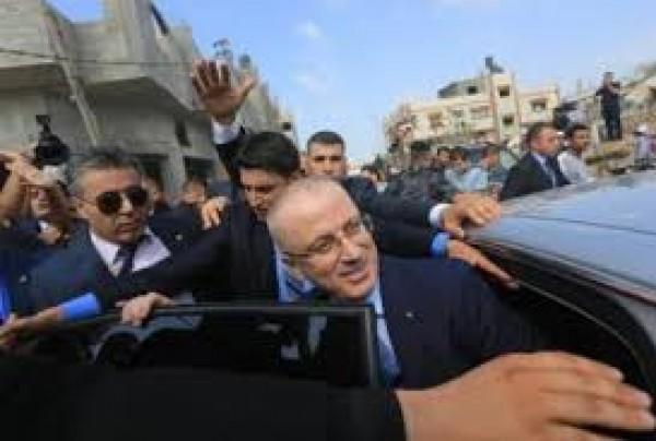 الرئاسة الفلسطينية تحمل حماس مسؤولية انفجار غزة الذي استهدف موكب رئيس الوزراء