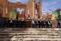 حزب الله - أمل يستخدمان معبد إله الخمر: خرق القانون الانتخابي