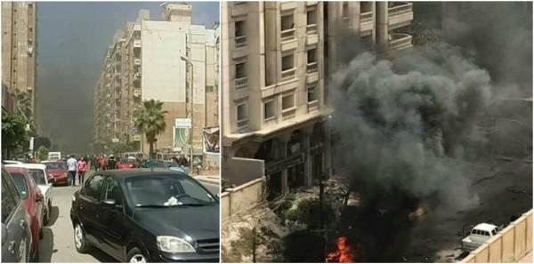 بالصورة والفيديو :سيارة مفخخة تستهدف موكب مدير أمن في الإسكندرية