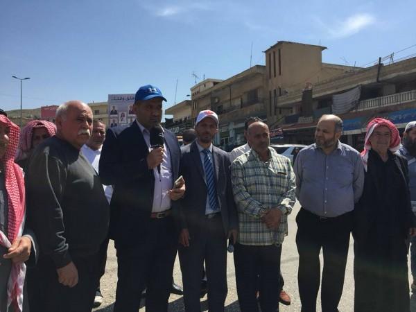 بالصور ... أهالي الموقوفين الإسلاميين يتحركون من جديد للمطالبة بالعفو العام الشامل