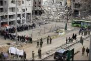 سوريا.. مناشير للنظام تدعو المدنيين لمغادرة ريفي حمص وحماة
