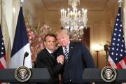ترامب وماكرون: لاتفاق جديد مع إيران يلجمها إقليمياً