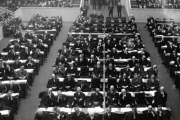 ما هي المنظمة التي سبقت ظهور الأمم المتحدة؟