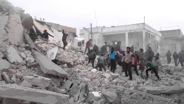 كيماوي الأسد طال سراقب في شباط الماضي