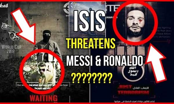 داعش يهدد ميسي ورونالدو بصورة 'مرعبة'