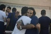 بالصور خروج أسرى من سجن طرة في مصر صباح اليوم