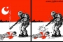 كاريكاتير: الاحتلال الاسرائيلي في رمضان