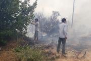إندلاع حريق في ضهر نصار - عكار