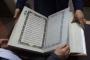 مصحف من الحرير لحفظ فن الخط الأفغاني