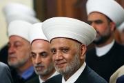 مفتي الجمهورية يؤدي صلاة العيد في مسجد محمد الامين ويتقبل التهاني في دار الفتوى