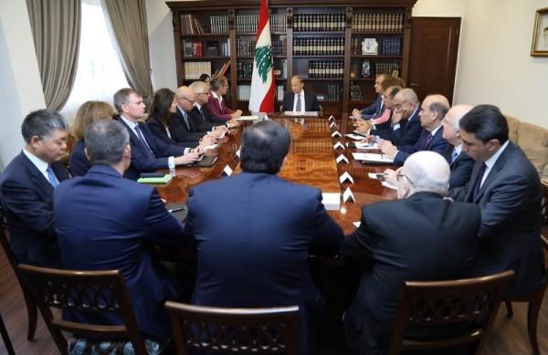 عون: لبنان الوفي لالتزاماته تجاه النازحين يطالب ببدء عودتهم