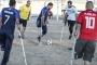 مباراة على حدود غزة تحاكي افتتاح 'كأس العالم'