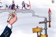 كاريكاتير: اللاجئون.. قضية سياسية في لبنان