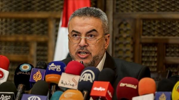 حماس تدعو للمحافظة على سلمية مسيرة 'العودة' بغزة