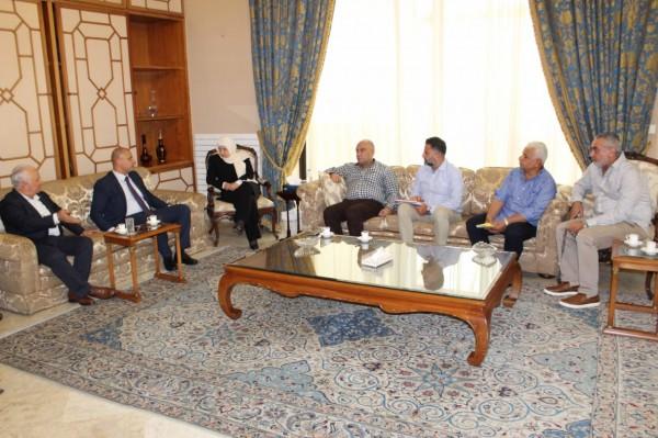 التعاون اللبناني الفلسطيني في مكافحة المخدرات حضر في اجتماع مجدليون